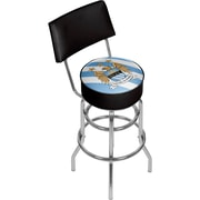 Premier League Manchester City Swivel Bar Stool with Back  (EPL1100-MC)