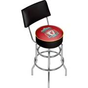 Premier League Liverpool Football Club Swivel Bar Stool with Back (EPL1100-LP)