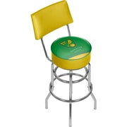 Premier League Norwich City Swivel Bar Stool with Back  (EPL1100-NC)