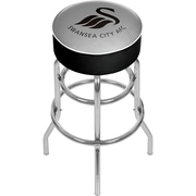 Premier League Swansea City Chrome Bar Stool with Swivel  (EPL1000-SC)