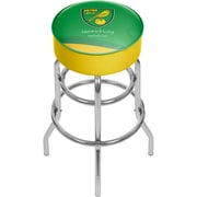 Premier League Norwich City Chrome Bar Stool with Swivel  (EPL1000-NC)