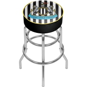 Premier League Newcastle United Chrome Bar Stool with Swivel  (EPL1000-NU)