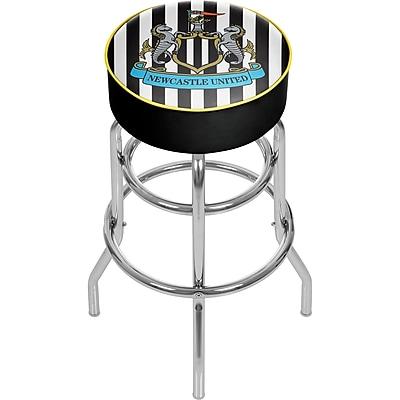 Premier League Newcastle United Chrome Bar Stool with Swivel (EPL1000-NU)