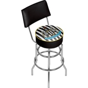 Premier League Newcastle United Swivel Bar Stool with Back  (EPL1100-NU)