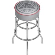 Coors Light Chrome Bar Stool with Swivel  (CL1000-RL)