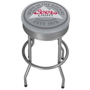 Coors Light Outdoor Ribbed Barstool  (CL1050-RL)