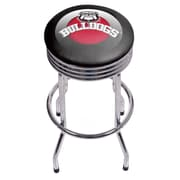 University of Georgia Chrome Ribbed Bar Stool - Honeycomb (GA1005-HC)