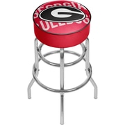 University of Georgia Padded Swivel Bar Stool - Wordmark (GA1000-WM)