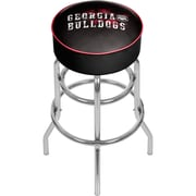 University of Georgia Padded Swivel Bar Stool - Smoke (GA1000-SMOKE)