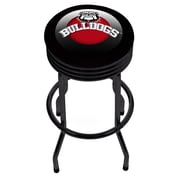University of Georgia Black Ribbed Bar Stool - Honeycomb (GA1006-HC)