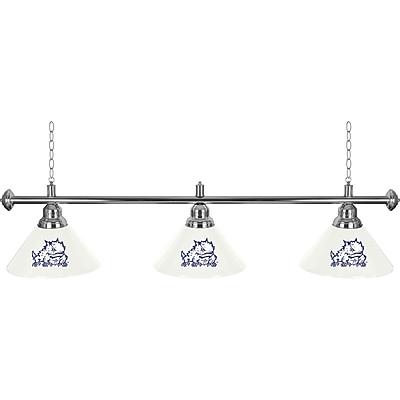 Texas Christian 3 Shade Billiard Lamp (CLC603-TCU)