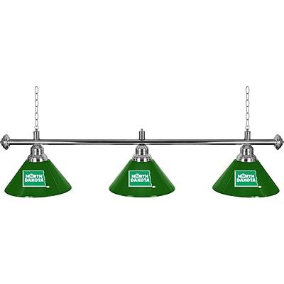 University of North Dakota 3 Shade Billiard Lamp (LRG603-ND)