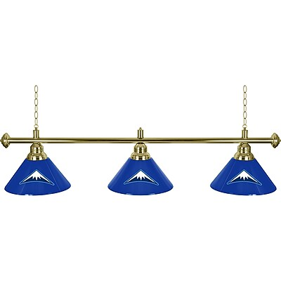 Denver Nuggets NBA 3 Shade Billiard Lamp (NBA603-DN)