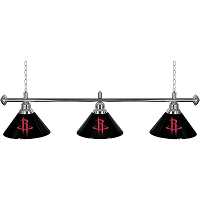 Houston Rockets NBA 3 Shade Billiard Lamp (NBA603-HR)
