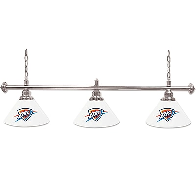 Oklahoma City Thunder NBA 3 Shade Billiard Lamp (NBA603-OCT)