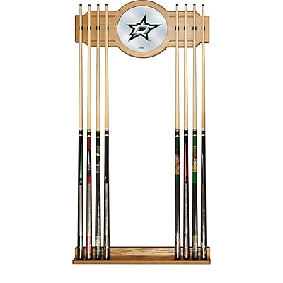 NHL Cue Rack with Mirror - Dallas Stars (NHL6000-DS2)