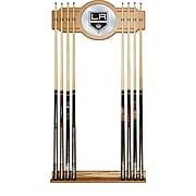NHL Cue Rack with Mirror - Los Angeles Kings (NHL6000-LAK2)