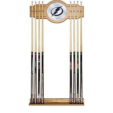 NHL Cue Rack with Mirror - Tampa Bay Lightning (NHL6000-TBL2)