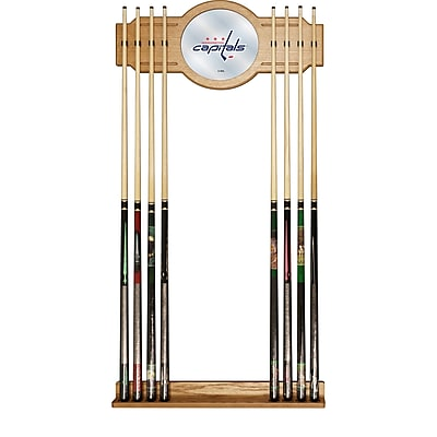 NHL Cue Rack with Mirror - Washington Capitals (NHL6000-WC2)