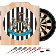 Premier League Newcastle United Dart Cabinet includes Darts and Board (EPL7000-NU)