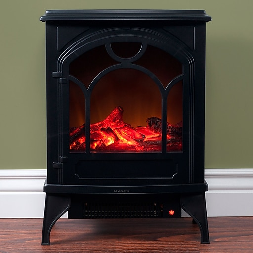 Northwest Freestanding Classic Electric Log Fireplace (80-WSD013)