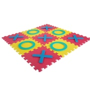 Hey! Play! Giant Interlocking Foam Square Tic-Tac-Toe Game (M420006)