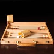 Trademark Games Deluxe Wooden Backgammon Set (12-3880)