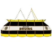 "NHL Handmade 40"" Tiffany Style Lamp Boston Bruins® (NHL4000-BB2)"