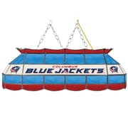 "NHL Handmade 40"" Tiffany Style Lamp Columbus Blue Jackets® (NHL4000-CBJ2)"