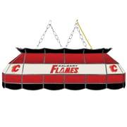 "NHL Handmade 40"" Tiffany Style Lamp Calgary Flames® (NHL4000-CF2)"