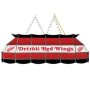 "NHL Handmade 40"" Tiffany Style Lamp Detroit Redwings® (NHL4000-DR2)"