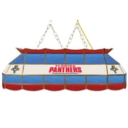 "NHL Handmade 40"" Tiffany Style Lamp Florida Panthers® (NHL4000-FP2)"