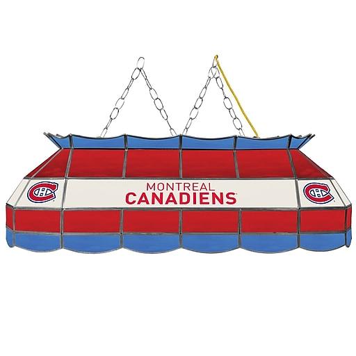 "NHL Handmade 40"" Tiffany Style Lamp Montreal Canadiens® (NHL4000-MC2)"