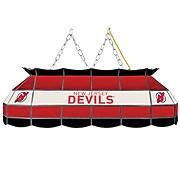 "NHL Handmade 40"" Tiffany Style Lamp New Jersey Devils® (NHL4000-NJD2)"