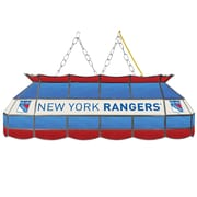 "NHL Handmade 40"" Tiffany Style Lamp New York Rangers® (NHL4000-NYR2)"