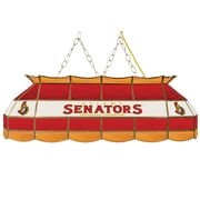 "NHL Handmade 40"" Tiffany Style Lamp Ottawa Senators® (NHL4000-OS2)"
