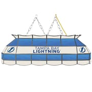 "NHL Handmade 40"" Tiffany Style Lamp Tampa Bay Lightning® (NHL4000-TBL2)"