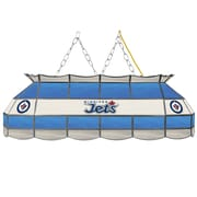 "NHL Handmade 40"" Tiffany Style Lamp Winnipeg Jets® (NHL4000-WJ2)"