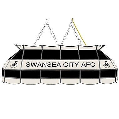 Premier League Swansea City Handmade Tiffany Style Lamp - 40 Inch (EPL4000-SC)