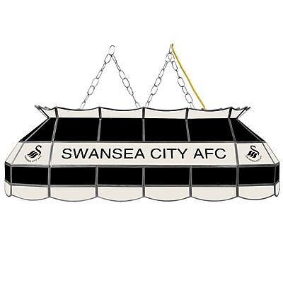 Premier League Swansea City Handmade Tiffany Style Lamp - 40 Inch (EPL4000-SC)