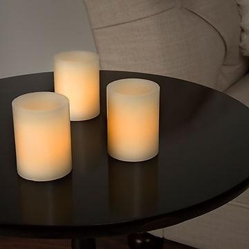 Lavish Home 8 Piece LED Votive Flameless Wax Candle Set (72-0008)