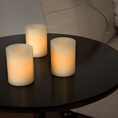 Lavish Home 8 Piece LED Votive Flameless Wax Candle Set (72-0008)