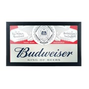 Budweiser Framed Logo Mirror - Label Design (AB1500-LBL)