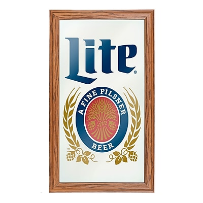 Miller Lite Framed Logo Mirror (ML1500)