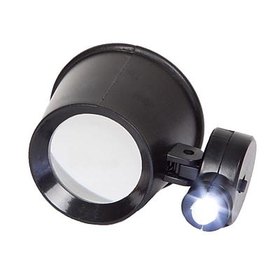 Stalwart 10x Magnification Jewelers Eye Loupe with Adjustable LED  (M550006)