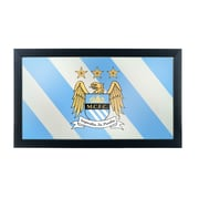 Premier League Manchester City Framed Logo Mirror (EPL1500-MC)