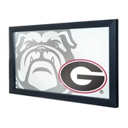 University of Georgia Framed Logo Mirror - Fade (GA1500-FADE)