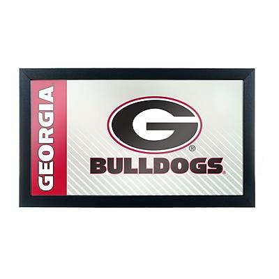 University of Georgia Framed Logo Mirror - Text (GA1500-TXT)
