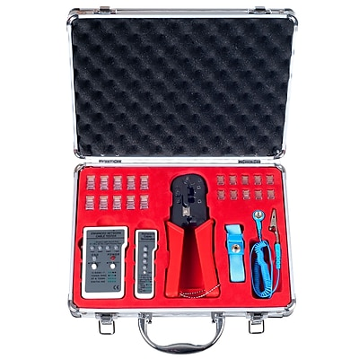 Stalwart Network Connecting and Testing Kit - 24 Piece (75-93250)