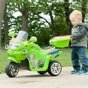 Lil' Rider 3 Wheel Battery Powered FX Sport Bike - Green (80-109G)